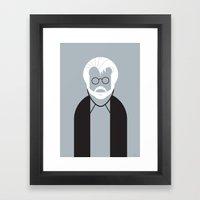 George Framed Art Print