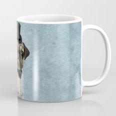 Pug; Gentle Pug (v3) Mug