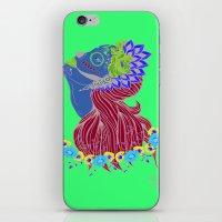 Lady of Death iPhone & iPod Skin