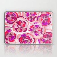 Floral Fuchsia Laptop & iPad Skin