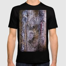 Cast in concrete Black SMALL Mens Fitted Tee