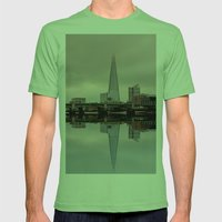 Reflections of the Shard Mens Fitted Tee Grass SMALL