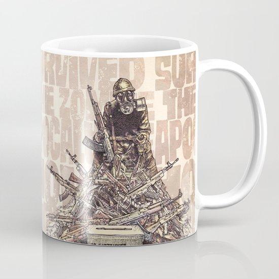 How I Survived The Zombie Apocalypse (colour option) Mug