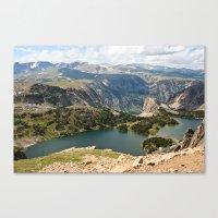 Beartooth Pass Lookout Canvas Print