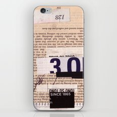 BOOKMARKS SERIES pg 334 iPhone & iPod Skin