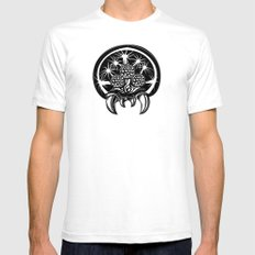 Metroid Mens Fitted Tee White SMALL