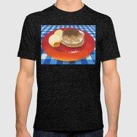 Pancakes Week 15 Mens Fitted Tee Tri-Black SMALL