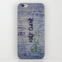 Keep Clear iPhone & iPod Skin