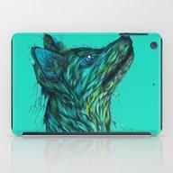 Sea Fox In Aqua iPad Case