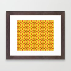 Vandenbosch Yellow Framed Art Print