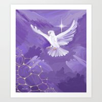 The Dove Art Print