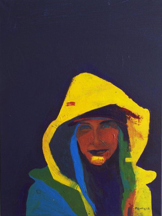 """Neon Tofte"" Art Print"