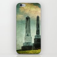 Headstones iPhone & iPod Skin