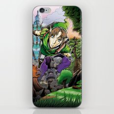 link's journey iPhone & iPod Skin