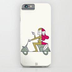 Lovers hug iPhone 6 Slim Case