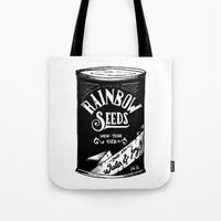 Rainbow Seeds Tote Bag
