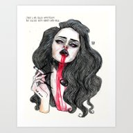 ''Cause I Was Filled Wit… Art Print