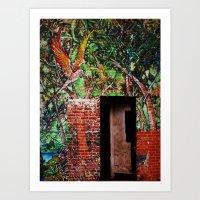The Subtle Entrance Art Print