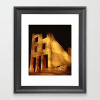 Death Valley Ruins Framed Art Print