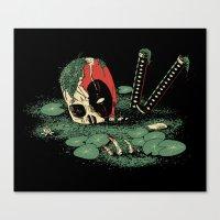 Dead Pond Canvas Print