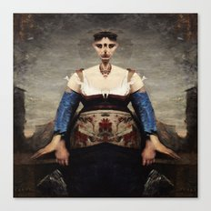 Corot Remixed Canvas Print