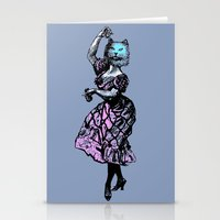 The Flamenco Cat  Stationery Cards