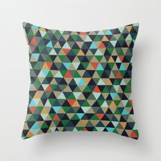 Twisted Reality Throw Pillow