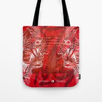 Anatomy of a Disaster. Tote Bag