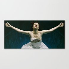 abyss of the disheartened : I Canvas Print