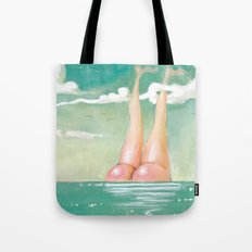 Rediscovery of Atlas (Moon Over the Horizon) Tote Bag