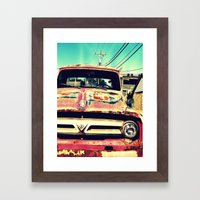 Old Things Are The Best Things Framed Art Print