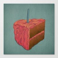 Happy Birthday (Pink)  Canvas Print
