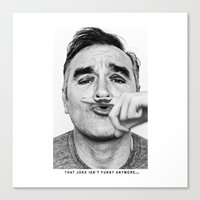 I Just Might Die With A … Canvas Print