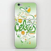 CELTICS iPhone & iPod Skin
