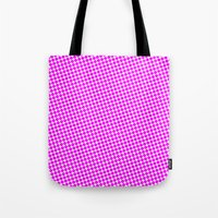 PINK DOT - SMALL - Tote Bag