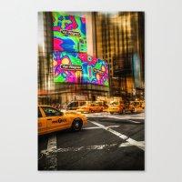 New York - Van Wagner Canvas Print