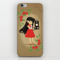 Retro Sailor Mars iPhone & iPod Skin