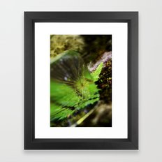 In Search of Memories Framed Art Print
