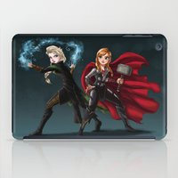 Thunder And Frost iPad Case