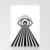 Laser Eye Stationery Cards