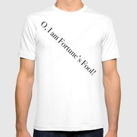 Fortune's Fool Mens Fitted Tee White SMALL