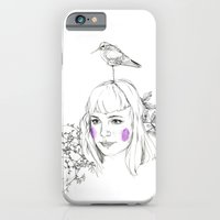 iPhone & iPod Case featuring Bird Watching by Jessica Feral
