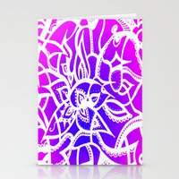Pink & Purple Love Stationery Cards