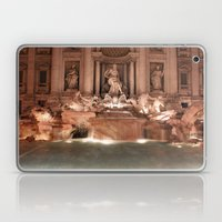 Make a Wish at Trevi Fountain Laptop & iPad Skin