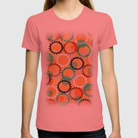 Smells Like Flowers And … Womens Fitted Tee Pomegranate SMALL