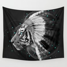 Don't Define the World (Chief of Dreams: Tiger ) Tribe Series Wall Tapestry