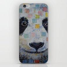 Panda Checkers iPhone & iPod Skin