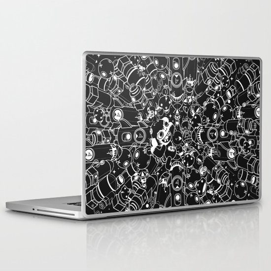 For Good For Evil Laptop & iPad Skin
