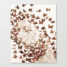 Butterfly People 3 Canvas Print