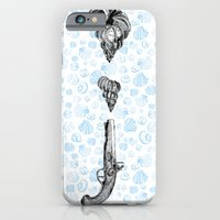 Seashells And Weapon iPhone 6 Slim Case